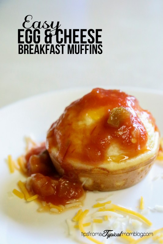 Easy Egg and Cheese Breakfast Muffins