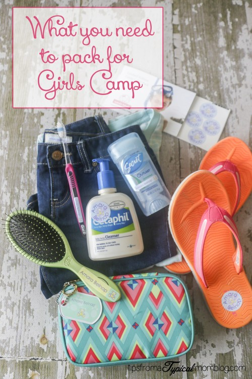 What to Pack for Summer Girls Camp