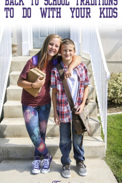 Back to School Traditions to do with Your Kids
