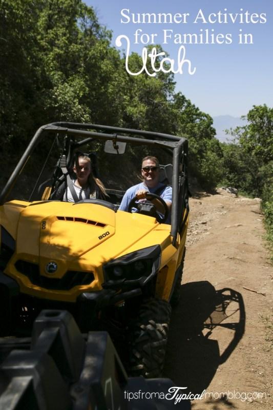 5 Summer Outdoor Activites for Families in Utah