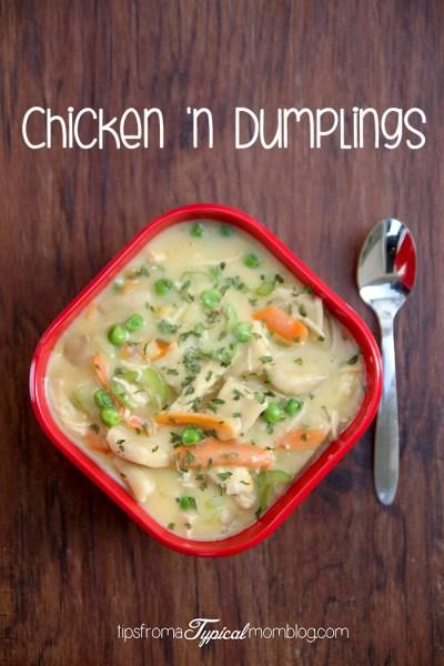 Chicken 'n Dumplings Recipe