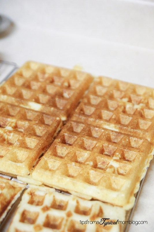 Traditional Brussels Waffles