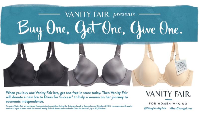 Vanity Fair BOGOGO Sale
