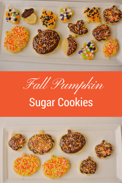 Fall Pumpkin Pie Sugar Cookies Recipe~ Oktoberfest Guest Post