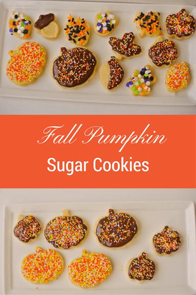 Fall Pumpkin Pie Sugar Cookies Recipe~ Oktoberfest Guest Post
