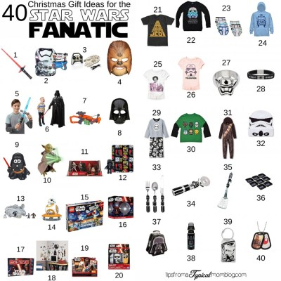 40 Christmas Gift Ideas for the Star Wars Fanatic