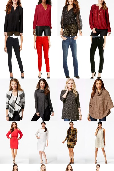 Holiday Outfit Ideas for Thick Waisted Women