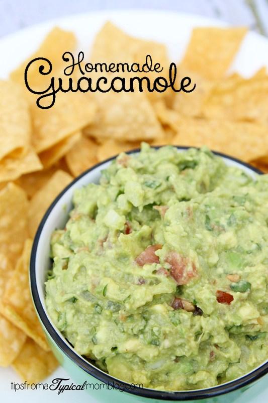 Homemade Guacamole Recipe