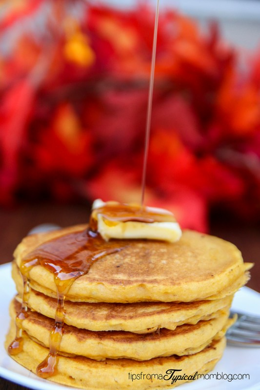 Pumpkin Toffee Pancakes Recipe