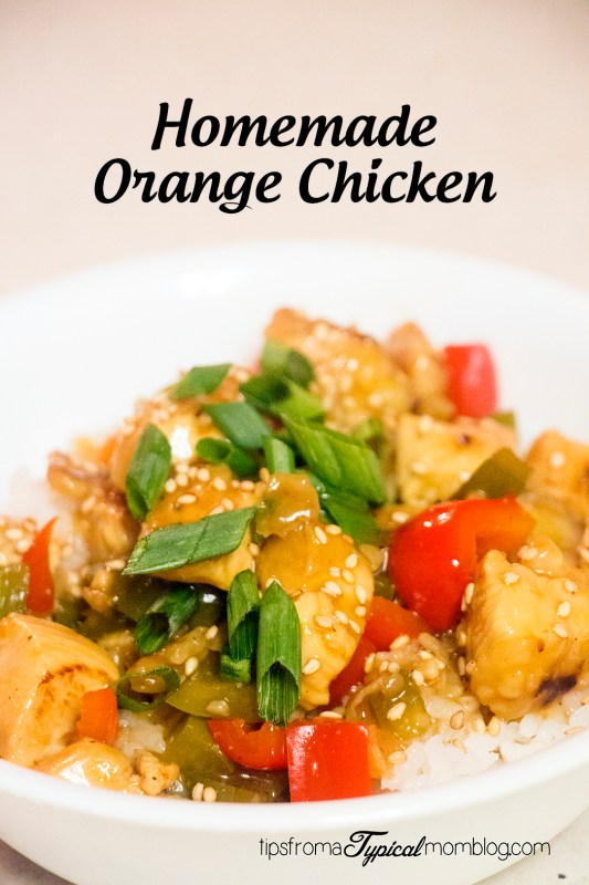 Homemade Orange Chicken