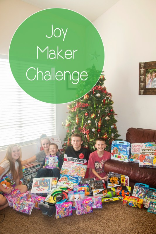 Joy Maker Challenge- Teaching Our Kids to Give Back
