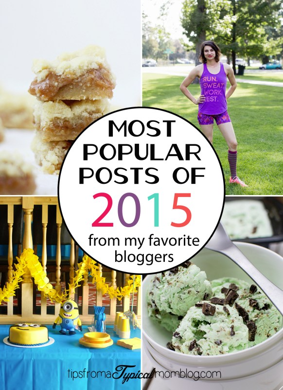 Most Popular Posts from bloggers 2015