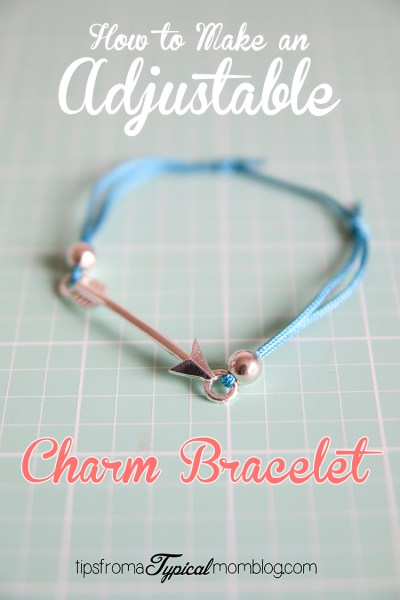 How to Make an Adjustable Charm Bracelet- Young Women Press Forward Gift