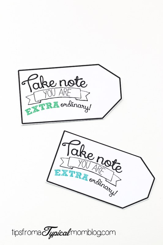Get Extra Give Extra Gift Tag