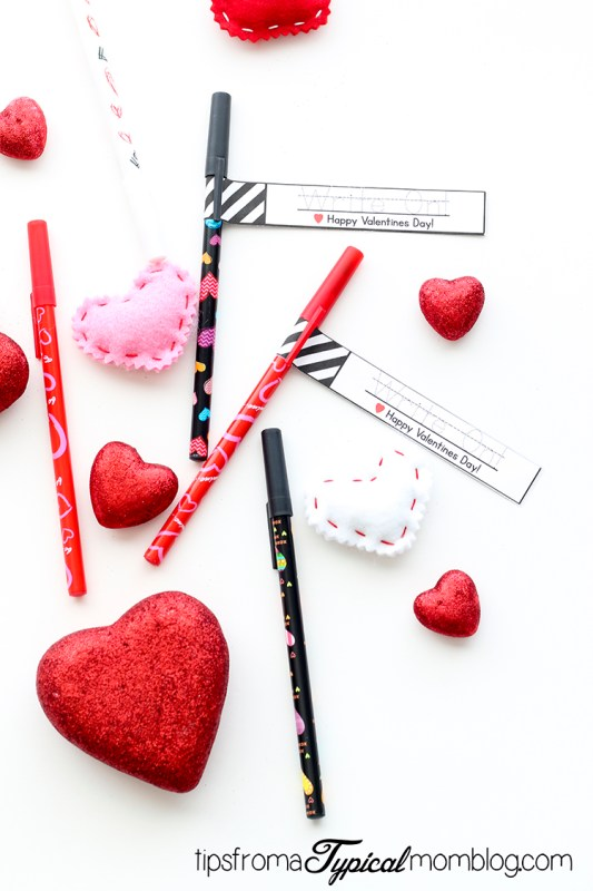Write On Printable Valentines Non Candy