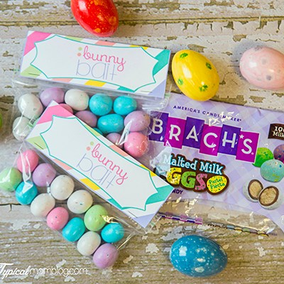 Easter Bunny Bait Treat Bags Free Printable
