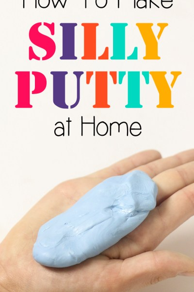 How To Make Silly Putty with Only 2 Ingredients
