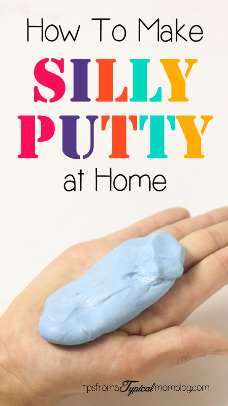 How to Make Silly Putty at Home