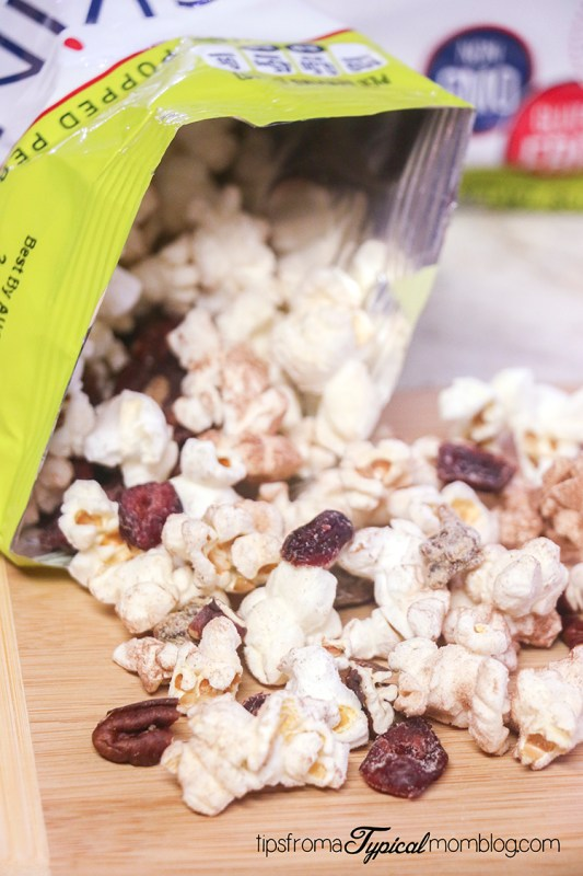 Sweet and Healthy Popcorn Snack Mix Recipe