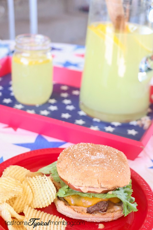 4th of July All-American Burger
