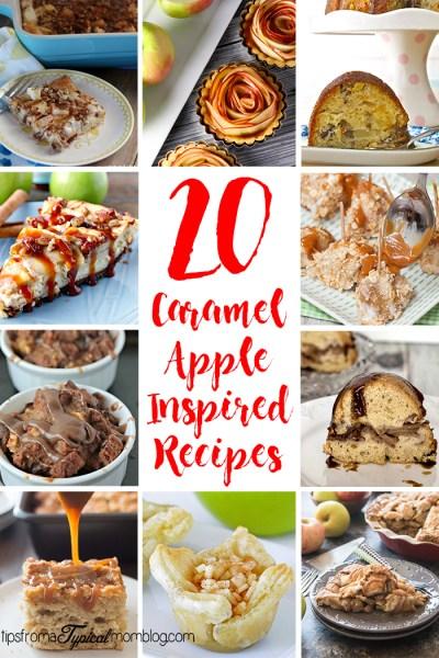 20 Caramel Apple Inspired Recipes