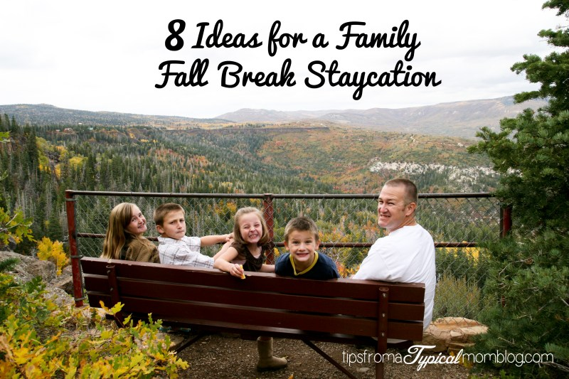 8 Ideas for the Perfect Fall Break Family Staycation + Hotel Stay Giveaway!