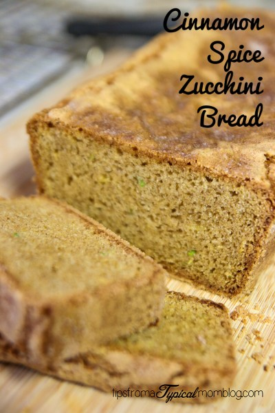 Sister Bell's Cinnamon Spice Zucchini Bread Recipe