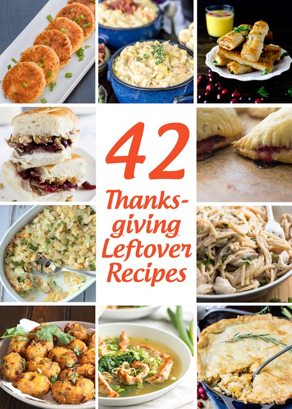 42 Thanksgiving Leftovers Recipes