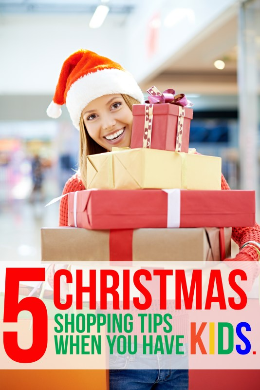 5 Shopping Tips For Christmas When You Have Kids 100
