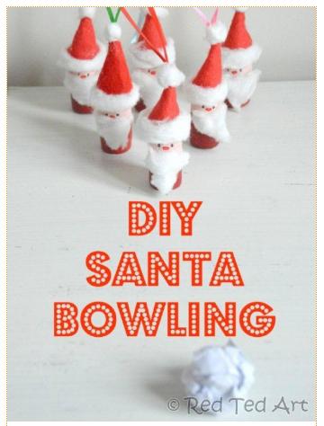 diy-santa-bowling