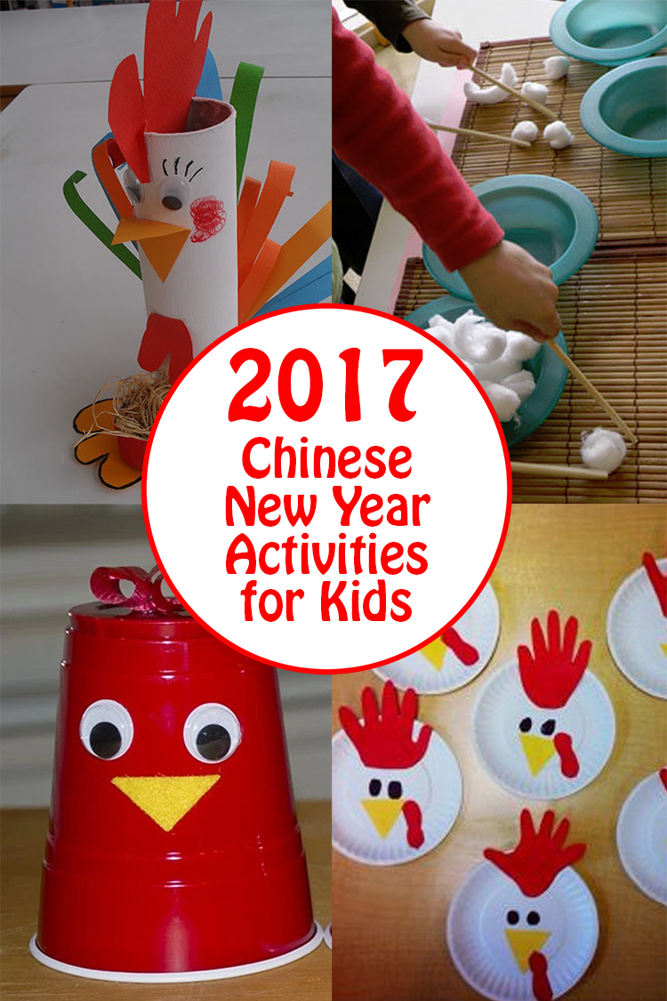 2017 Chinese New Year Kids Activities and Rooster Crafts ...