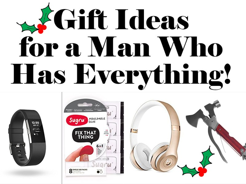 Christmas Ideas For Husband Who Has Everything