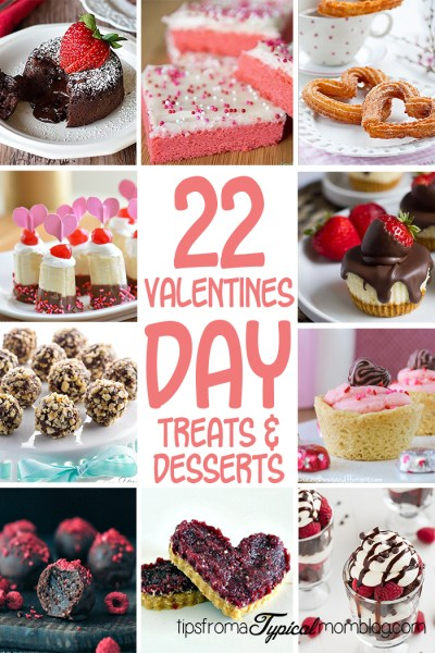 22 of the Best Valentines Day Desserts & Treats