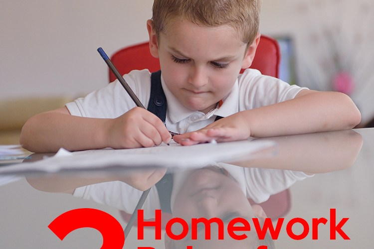 The 3 Rules of Homework for Kids