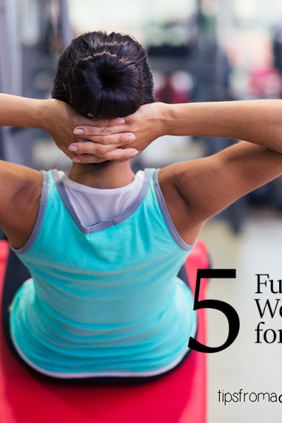 5 Full Body Gym Workouts for Busy Moms