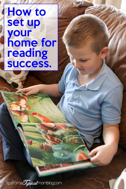 Reading success starts at home. Learn what you can do to help your child learn to love to read.