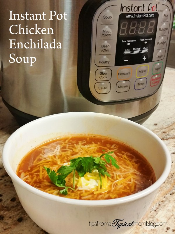 Instant Pot Enchilada Chicken Soup Recipe