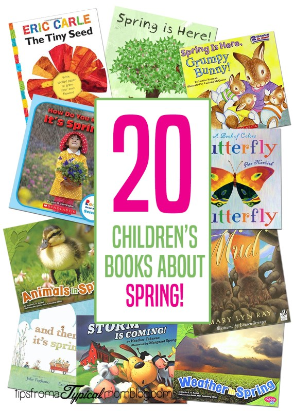 20 Childrens Books about Spring