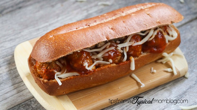 how to make easy meatball subs