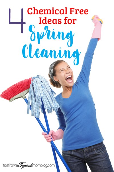 4 Chemical Free Ideas for Spring Cleaning Your Home