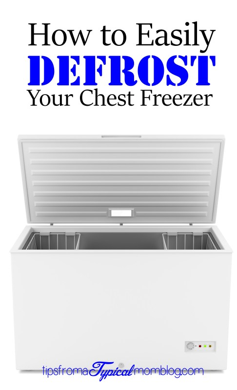 How To Easily Defrost Your Chest Freezer