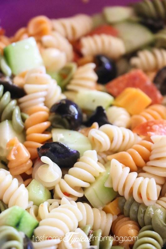 Easy Zesty Italian Pasta Salad