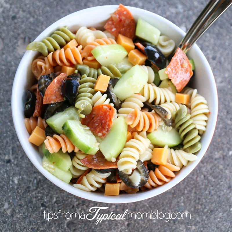Easy Zesty Italian Pasta Salad
