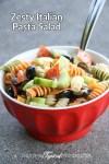 Easy Zesty Italian Pasta Sala