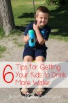 6 Tips for Getting Your Kids to Drink More Water in the Summer