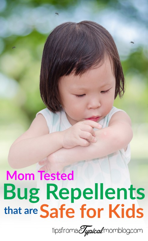 Mom Tested Bug Repellents that are Safe for Kids