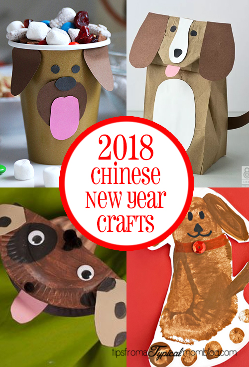 2018 chinese new year crafts and activities for kids for New year s crafts for preschoolers