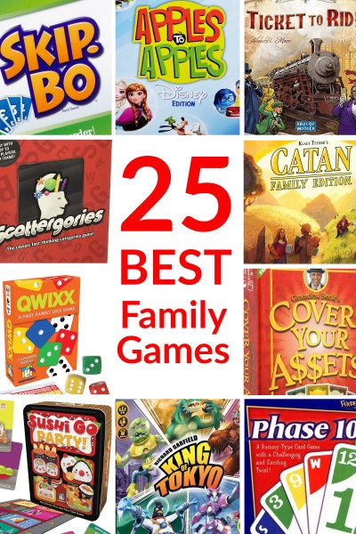 25 Best Board Games & Card Games for Families