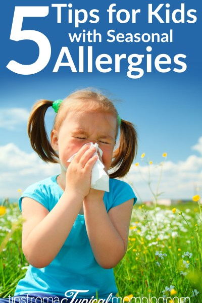 4 Tips for Kids with Seasonal Allergies