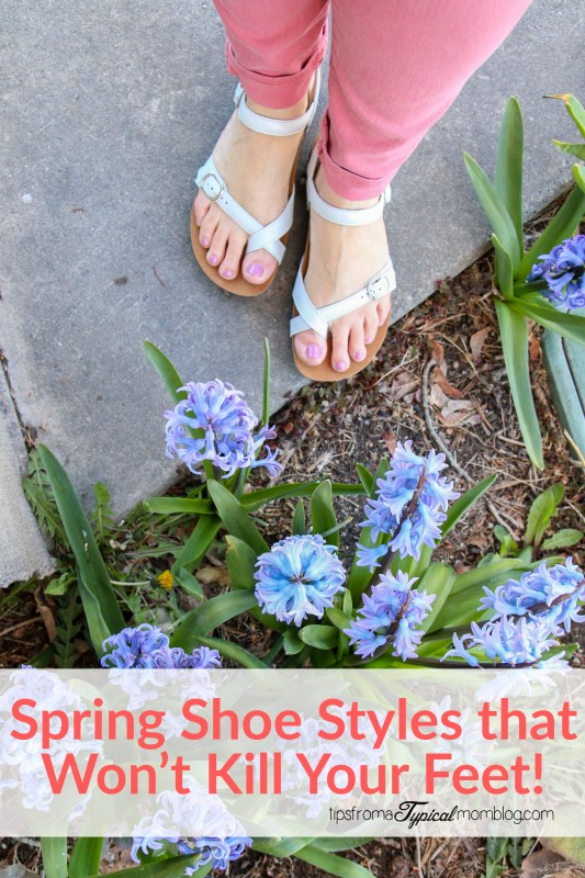 Spring Shoe Styles that Wont Kill Your Feet